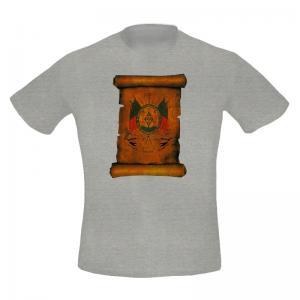 Camiseta Masc. Estampada Brasão Nv