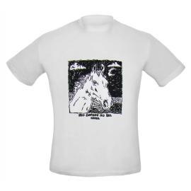 Camiseta Ad Cabeça Cavalo Branca