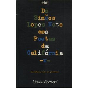 Livro De Simões Lopes Neto Aos Poetas Da Califórnia