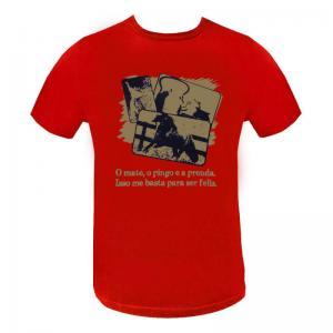 Camiseta Masc. Estampada 1 Pingo