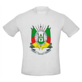 Camiseta Ad Brasão Rs (col) Branca