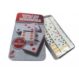 Domino Lata Double Six Color