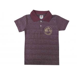 Camisa Polo Inf Lisa C/bordado (tam 0-8)