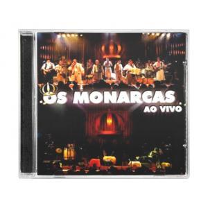 CD OS MONARCAS - AO VIVO