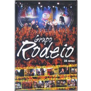 DVD GRUPO RODEIO - 25 ANOS
