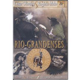 Dvd César Oliveira E Rogério Rio-grandenses