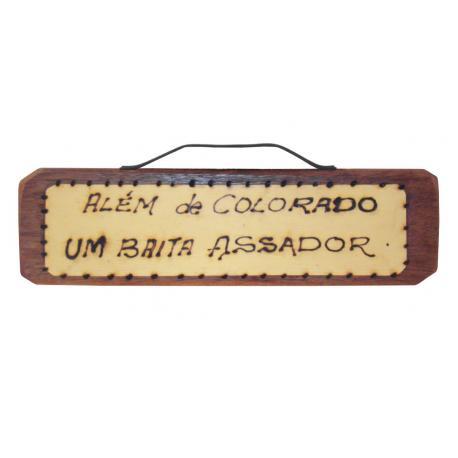 LEMB I MD ALEM DE COLORADO UM BAITA ASSADOR
