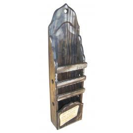 Porta Espeto Prd Cx C/placa Pinus Aqui Reunem