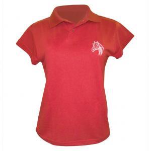 Camisa Polo Feminina (bl) Bord Cavalinho