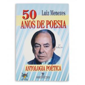 Livro 50 Anos De Poesia - Luiz