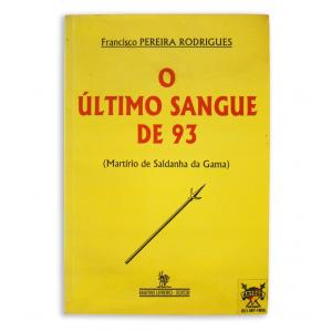 Livro Ultimo Sangue De 93