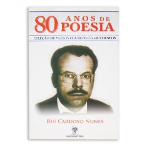 Livro 80 Anos De Poesia - Rui