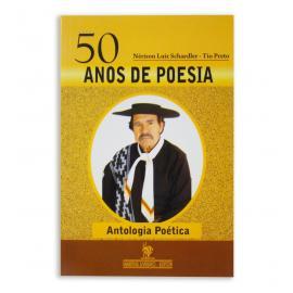 Livro 50 Anos De Poesia - Tio Preto