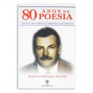 Livro 80 Anos De Poesia - Zeno