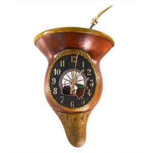 Relógio Cuia Roda Carreta