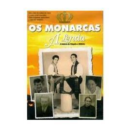 Dvd Os Monarcas - A Lenda