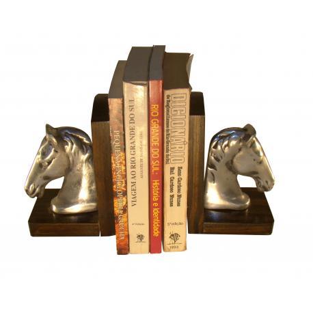 Porta Livro C/madeira
