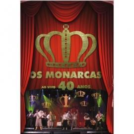 Dvd Os Monarcas - 40 Anos Ao Vivo