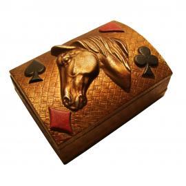 Porta Baralho Cavalo