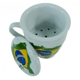 Caneca Efusor 9,5x8 Brasil