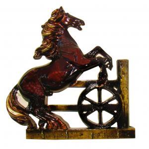 Porta Chave Cavalo Em Pé