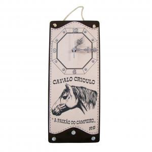 Relogio M2 Cavalo Crioulo