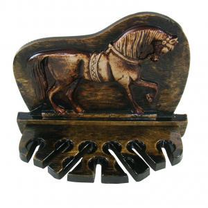 Porta Espeto Cavalo Marchando