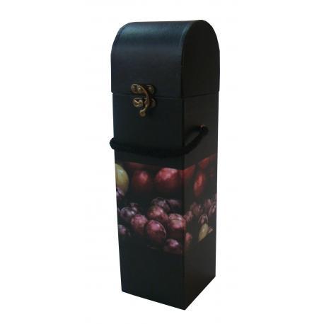 Cx P/ Vinho Uva 33 Cm