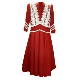Vestido Adulto Tam/50 Vermelho