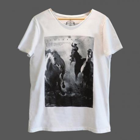 Camiseta Masc. Laçando Cavalos