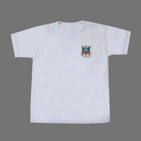 Camiseta Inf Bord Brasao Rs Branca (pp-m)