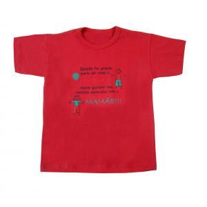 Camiseta Estampada Inf Papai