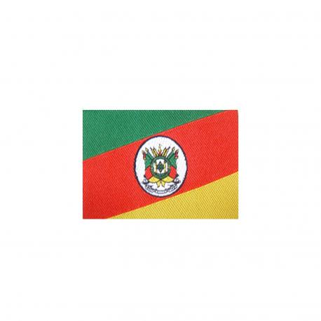 Bandeira Bordada Adesiva Rs