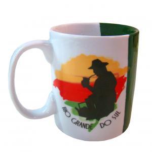 Caneca Bicolor 9x8 Gaucho