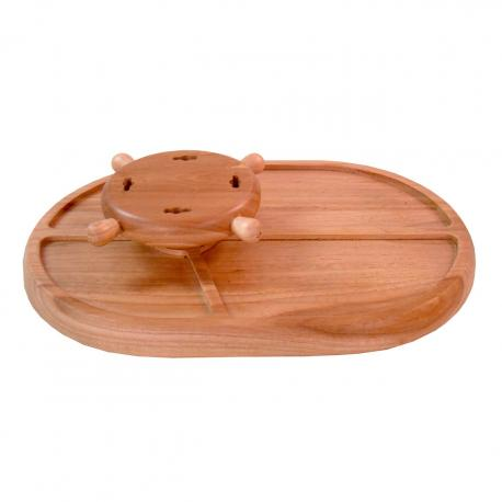 Tabua Wood Porta Espeto/petisq. 40x28x7,0cm