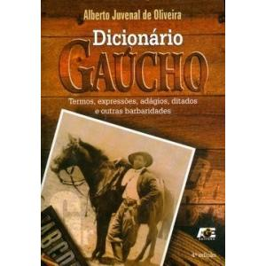 Livro Dicinário Gaúcho