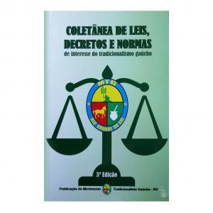 Livro Coletania De Leis,decretos E Normas 3ed