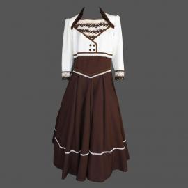 Vestido Adulto Tam/50 Marrom