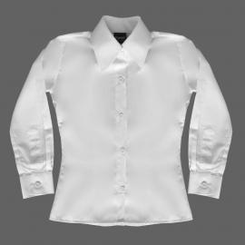 Camisete Ml Infantil Branco Se (2-8)