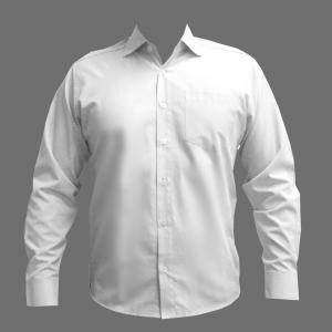 Camisa Ml Juvenil Branca Se (10-16)