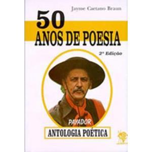 Livro 50 Anos De Poesia - Jayme