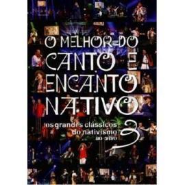 Dvd O Melhor Do Canto E Encanto Nativo Vol3
