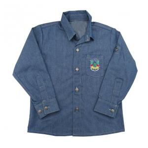 Camisa Infantil Ml Jeans