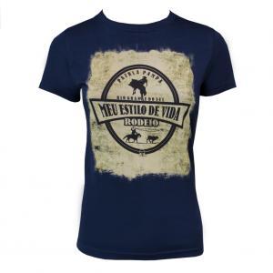 Camiseta Fem. Estampada 5 Rodeio