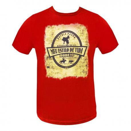 Camiseta Masc. Estampada 5 Rodeio